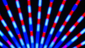 Colorful Neon Lights Clip 2 of 15 stock footage