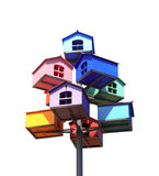 Colorful nesting boxes Stock Image