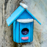 Colorful nesting boxes Stock Photography