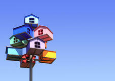 Colorful nesting boxes Royalty Free Stock Image