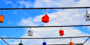 Colorful nesting boxes. Royalty Free Stock Image