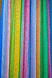 Colorful net. Abstract background from colorful net in vertical Stock Photography