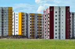 Colorful new flat of blocks Stock Photo