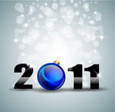 Colorful New Year Celebration Background Stock Image
