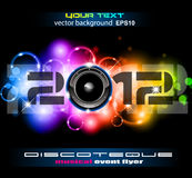 Colorful New Year Celebration Background Stock Images
