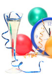 Colorful New Years Eve Stock Image