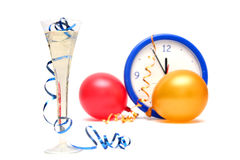 Colorful New Years Eve Stock Images
