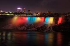 Free Colorful Niagara Falls At Night Stock Image - 83878071