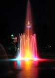 Colorful Niagara Falls Fountain Stock Photos
