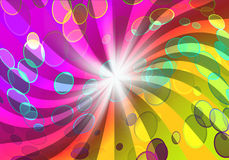 Colorful night party background Stock Photo