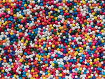 Colorful Nonpareils background Stock Images