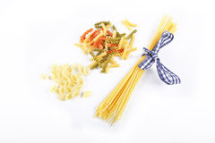 Colorful noodles Royalty Free Stock Images
