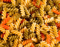Colorful Noodles Royalty Free Stock Photo