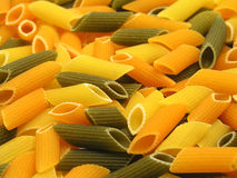 Colorful noodles Stock Images