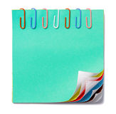 Colorful note Royalty Free Stock Photo