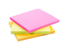 Colorful note Stock Images