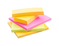 Colorful note Royalty Free Stock Photos