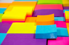 Colorful note pad Stock Photography