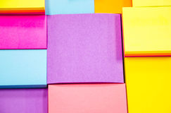 Colorful note pad Royalty Free Stock Photo