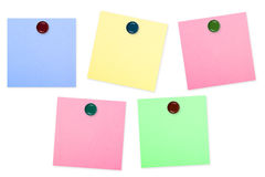 Colorful note paper Stock Photo