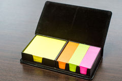 Colorful Note Papers postit Stock Photography