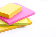Colorful note Royalty Free Stock Image