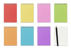 Colorful notepad Royalty Free Stock Photos
