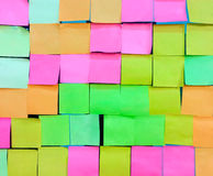 Colorful notepad Royalty Free Stock Image
