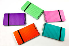 Colorful notepads Stock Photo
