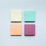 Colorful of notepaper set.business creativity Stock Photo
