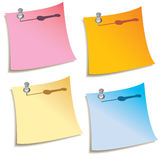 Colorful notes Royalty Free Stock Photography