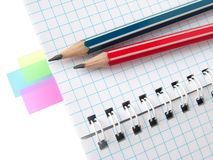 Colorful notes Royalty Free Stock Photo