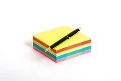 Colorful notes Royalty Free Stock Images