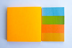 Colorful Notpad Royalty Free Stock Photos