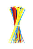 Colorful Nylon Cable Ties Royalty Free Stock Image