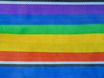 Colorful Nylon texture Stock Image
