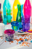 Colorful objects Stock Photography