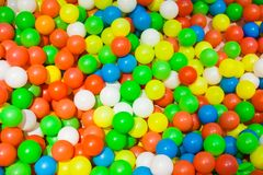 Colorful ocean ball Stock Photo