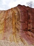 The colorful Ochre Pits Stock Photo