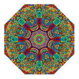 Colorful octagonal ornament Royalty Free Stock Images