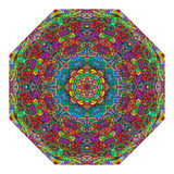 Colorful octagonal ornament Royalty Free Stock Photography