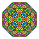 Colorful octagonal ornament Royalty Free Stock Photo
