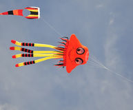 Colorful of octopus kite Royalty Free Stock Photo