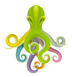 Colorful octopus Stock Photo