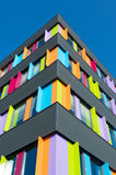 Colorful office building Stock Photos