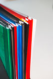 Colorful office folders Royalty Free Stock Photo