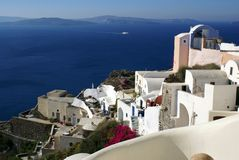 Colorful Oia Royalty Free Stock Photo