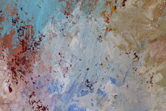 Colorful oil paint texture closeup , beautiful background art Stock Images