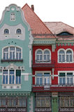 Colorful old building Timisoara. Romania stock image