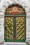 Old colorful door Stock Image